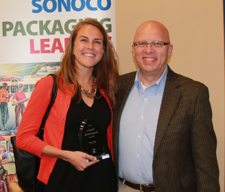 AT&T Awarded for Sustainable Business Practices by Sonoco