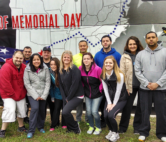 AT&T Employees Volunteer to Honor the True Meaning of Memorial Day