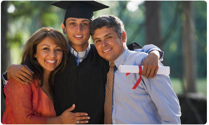 Grad and Parents
