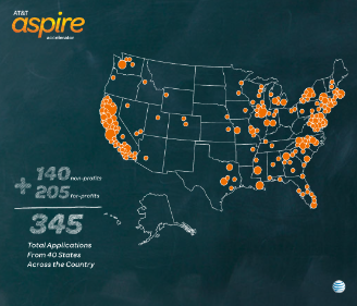 Aspire Accelerator: Applicants from Coast to Coast
