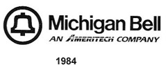 Michigan Bell logo circa 1984
