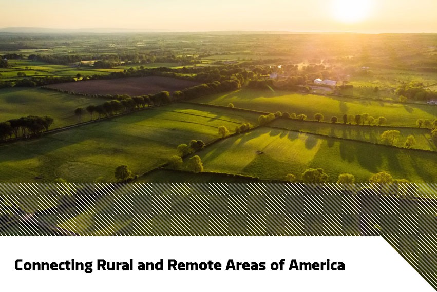 Connecting rurual and remote areas of America