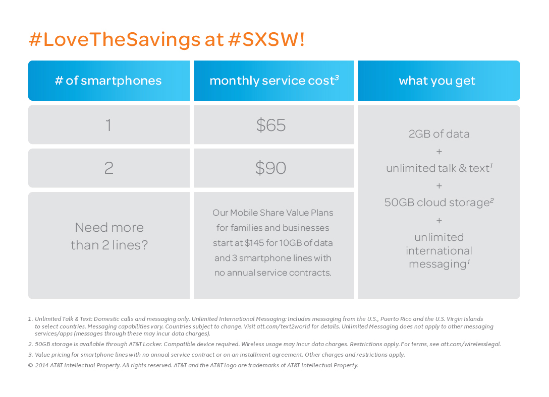 At&t Quote Bestever Price For Individual And Two Line Accounts  At&t