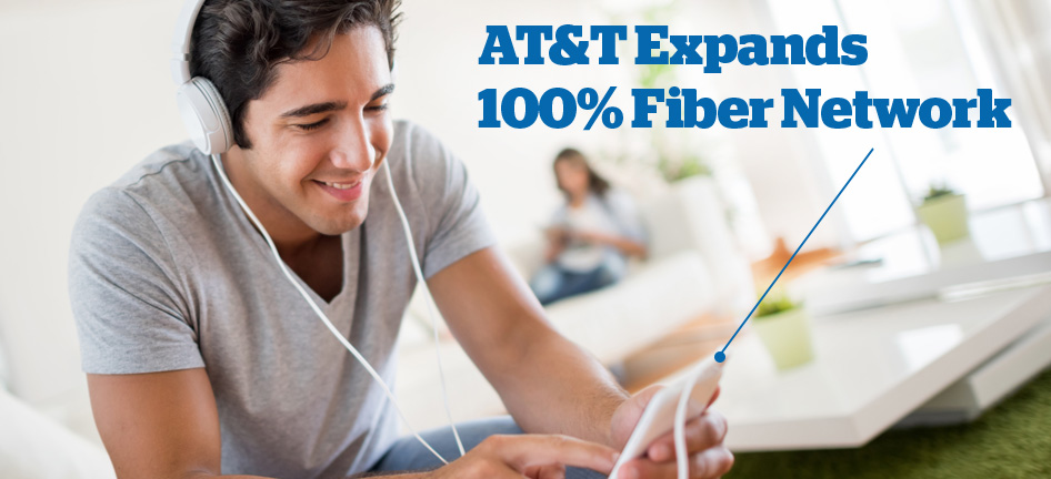 Ultra-Fast Internet Speeds Powered by AT&T Fiber Available in 5 New Metro Areas