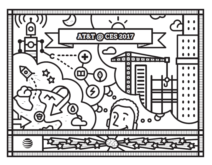 The AT&T Coloring Book