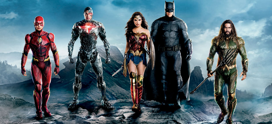 warner bros pictures justice league teams up with at t to take over times square. Black Bedroom Furniture Sets. Home Design Ideas