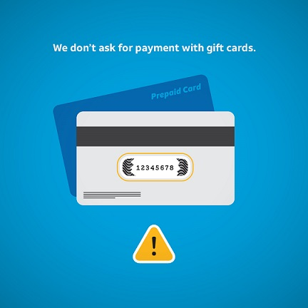 Prepaid Card Scam | AT&T Cyber Aware