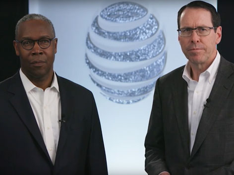 Watch the Randall Stephenson and David Huntley Code of Business Conduct video on YouTube