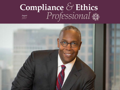 AT&T's David Huntley Featured In Compliance & Ethics Professional Magazine