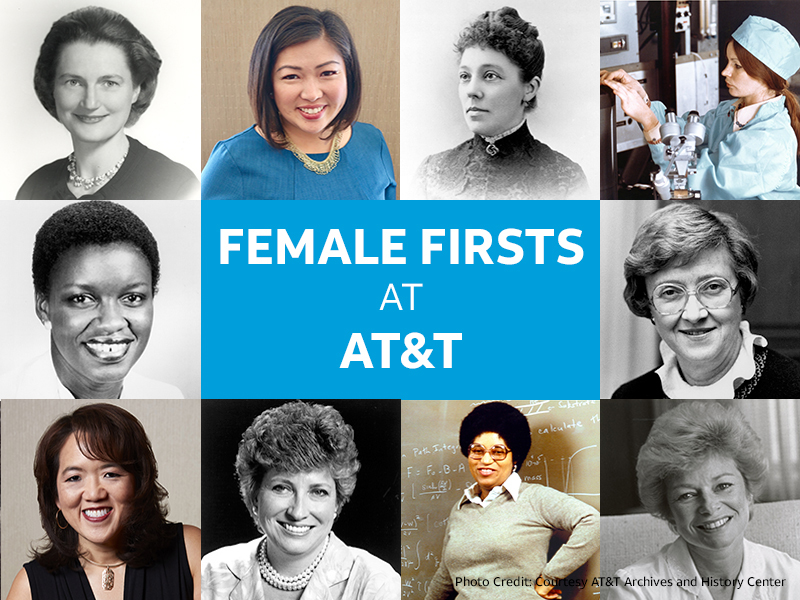 Female Firsts at AT&T