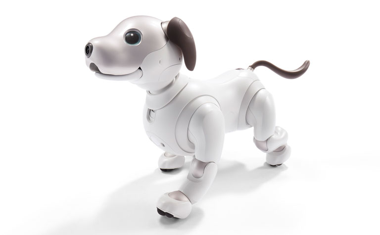"Sony's ""puppy"" companion, aibo, will now be connected on the AT&T network"