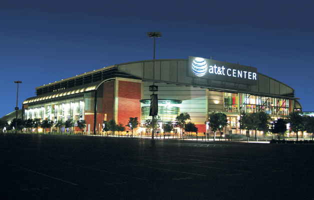 AT&T Center in San Antonio