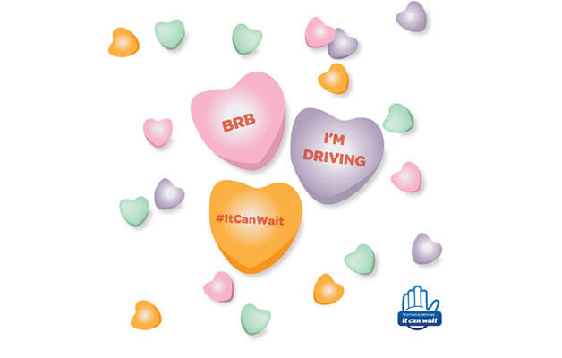 Show Your Loved Ones It Can Wait®