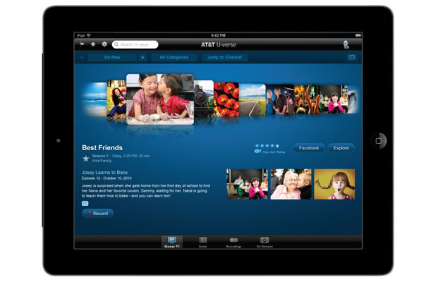 U-verse TV Customers Can Tune in to 27 More Live TV Channels on Smartphone and Tablet App