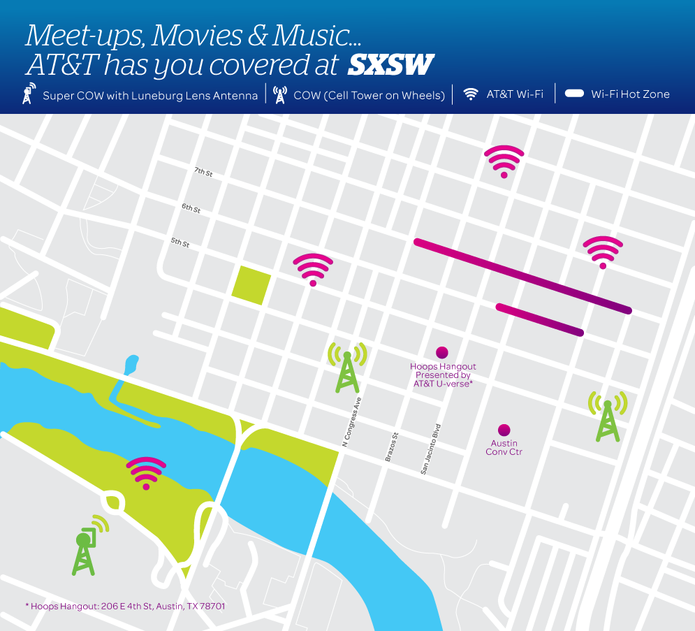 AT&T Doubles Network Capacity for 2015 SXSW Festival | AT&T on