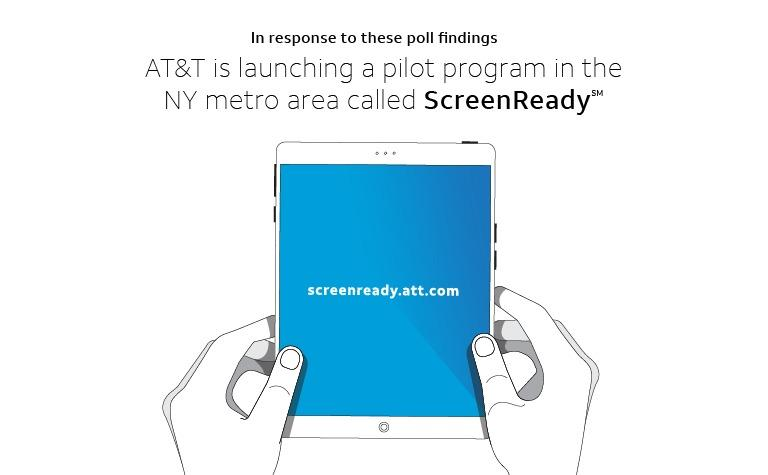 AT&T is launching pilot program in NY metro - ScreenReady