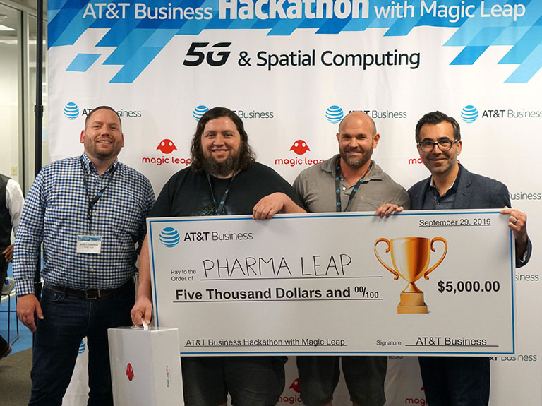 Transforming Businesses with 5G and Magic Leap's Spatial Computing