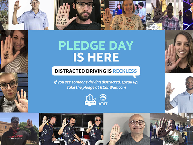 This Pledge Day, Speak Up Against Distracted Driving