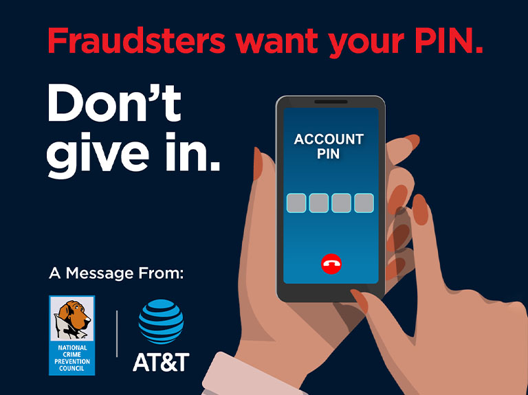 Learn more and prevent PIN scam fraud