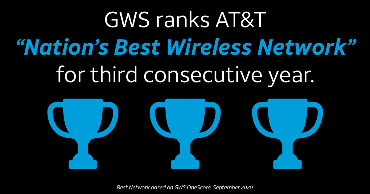At T Wins Best Wireless Network For 3rd Year In A Row