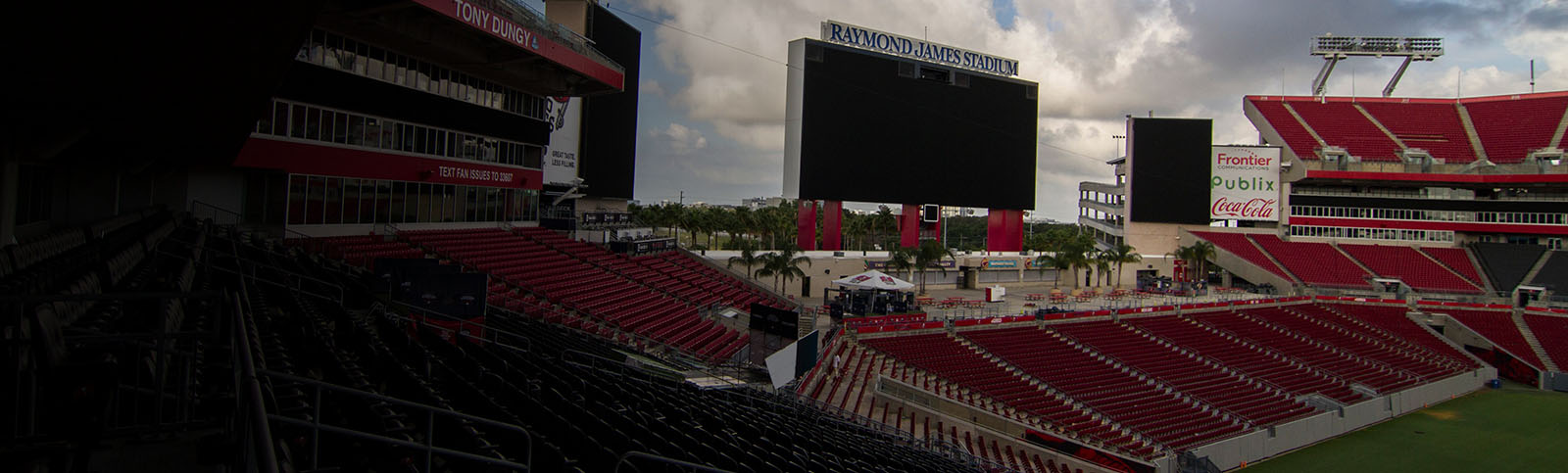 AT&T 5G+ is now available in Raymond James Stadium in Tampa, Florida.