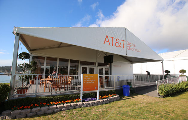 The AT&T Digital Clubhouse at the 2013 AT&T Pebble Beach National Pro-Am