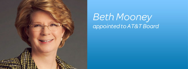 Beth Mooney appointed to AT&T Board