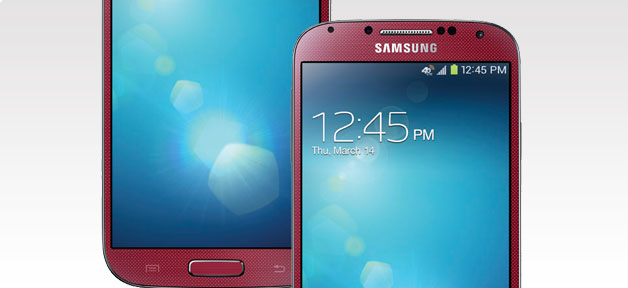Samsung Galaxy S4 Red from AT&T