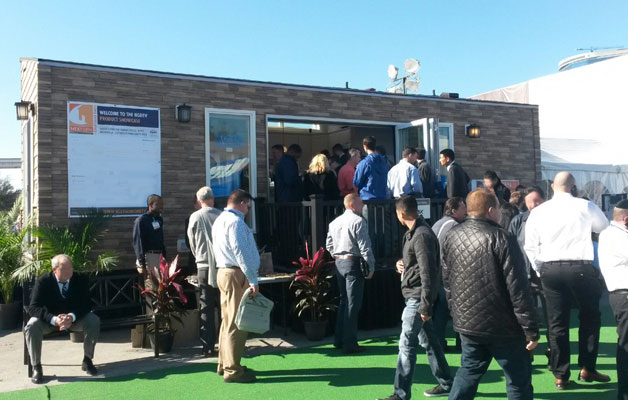 NextGen iModule Home at the International Builders Show in Las Vegas, NV